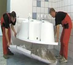Установка акриловой ванны Алматы